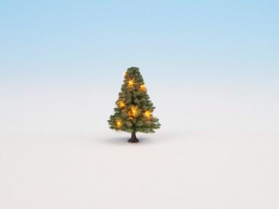 22111    Beleuchteter Weihnachtsbaum-1