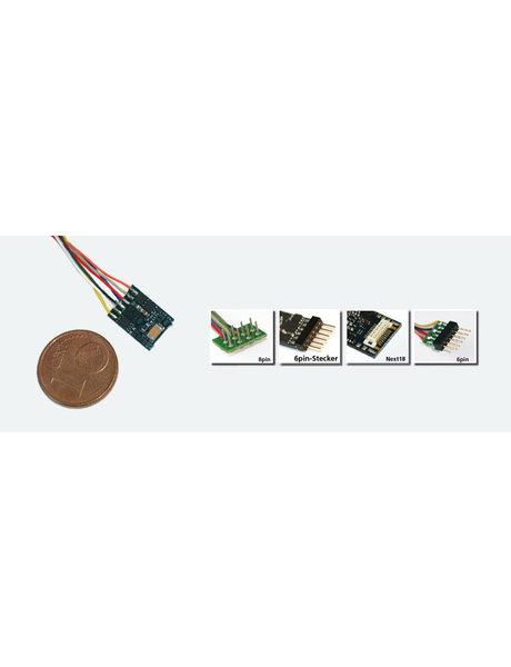 ESU ESU 54687 LokPilot micro V4.0, MM/DCC/SX, 6-pol. NEM 651 mit Kabel