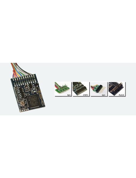 ESU ESU 54613 LokPilot V4.0 DCC Decoder, mit 6-poligem Stecker nach NEM 651