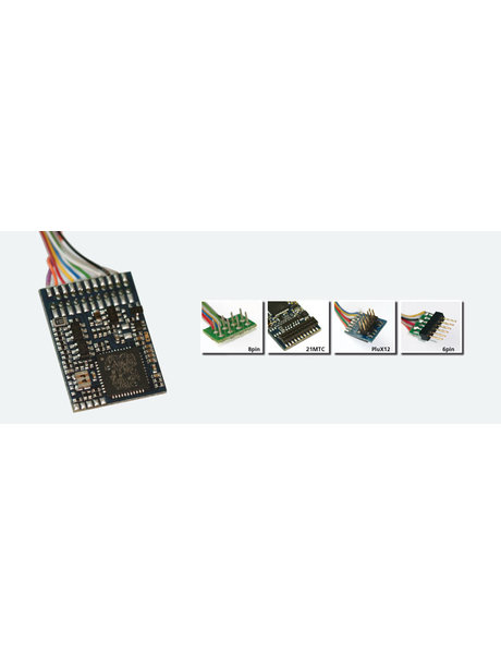 ESU ESU 54616 LokPilot V4.0 Multiprotokoll MM/DCC/SX, PluX12-Stecker, Kabelbaum