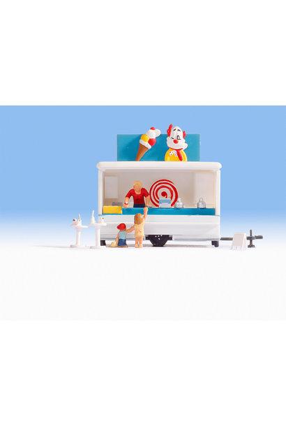 Eis-Verkaufswagen