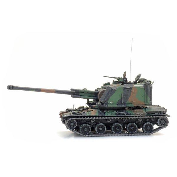 Artitec 6870434 FR AMX 30 AUF 1 155mm camo train load