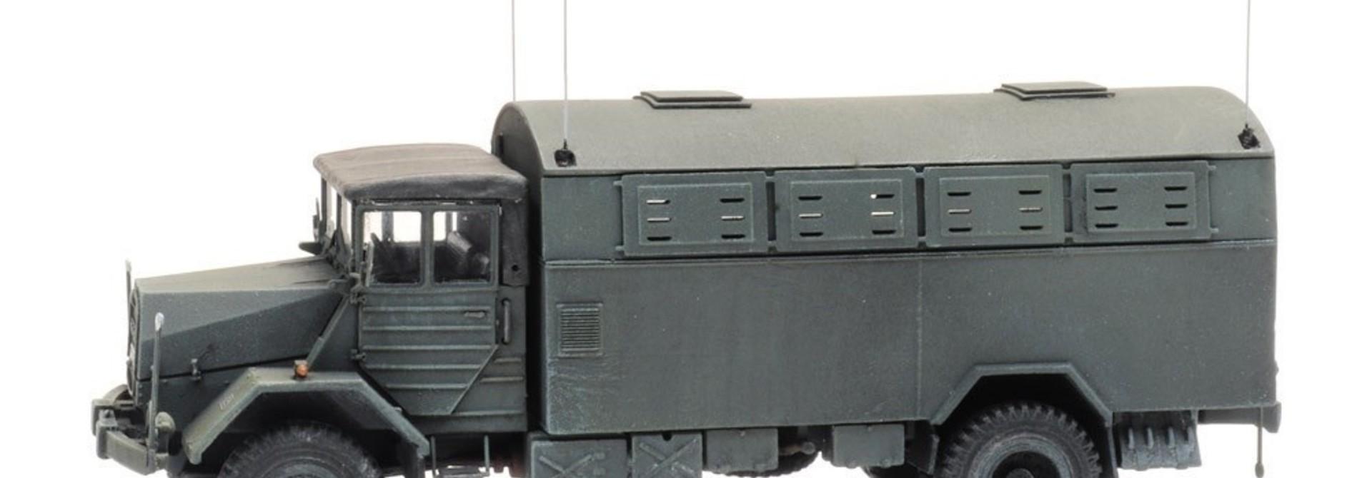 6870417 BRD MAN 630 L2 A mit  Fernmelde Kofferaufbau