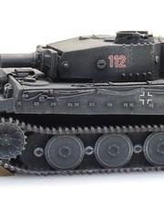 ARTITEC 6870401 WM Tiger I, grau Eisenbahntransport
