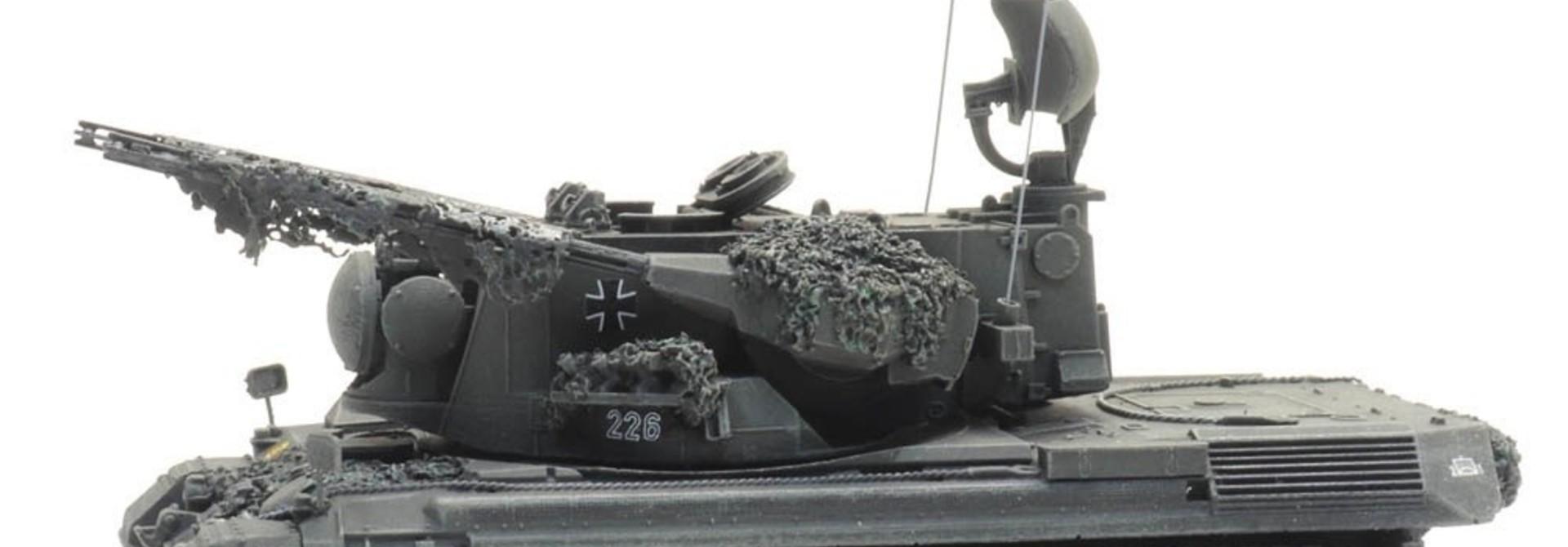 6870395 BRD Flugabwehrkanonenpanzer 1 Gepard gefechtsklar