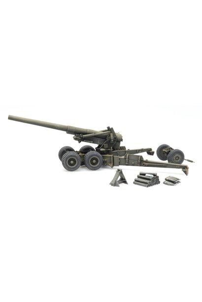 6870388 US 155mm Gun M1 'Long Tom' firing mode