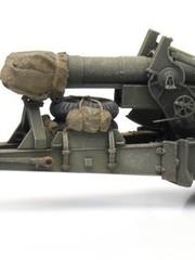 ARTITEC 6870387 US 155mm Gun M1 'Long Tom' transport mode