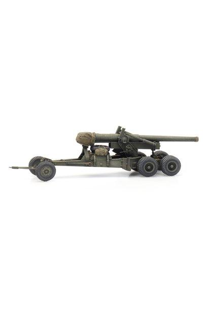 6870387 US 155mm Gun M1 'Long Tom' transport mode