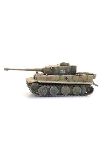 6160094 WM Tiger I Tarnung Eisenbahntransport