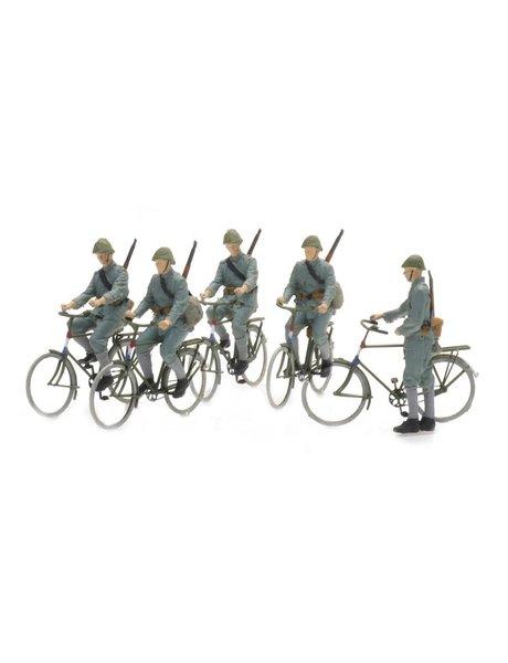 ARTITEC 5870006 NL fietsende soldaten 1940 (5x)