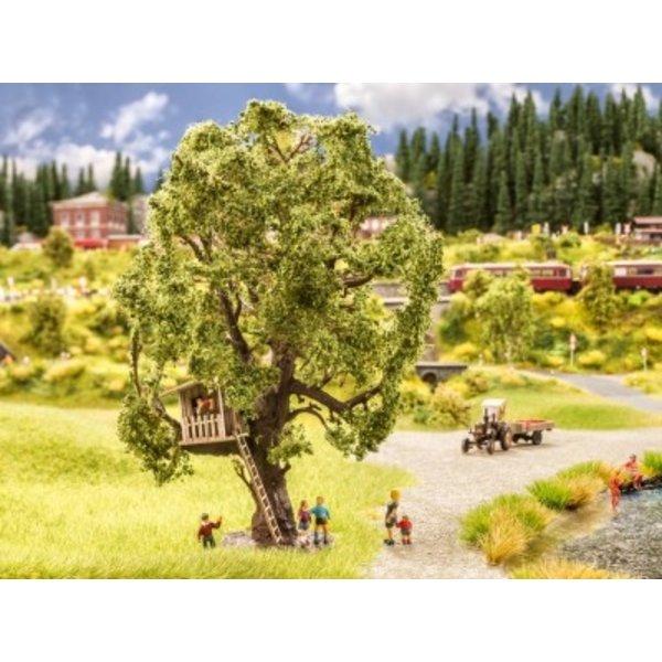 NOCH 21765  Baum mit Baumhaus