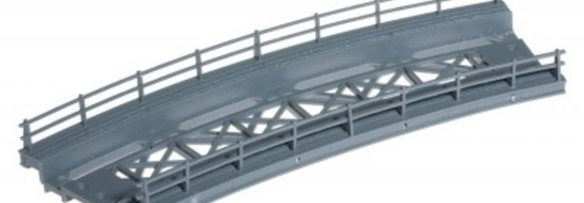 21350    Brückenfahrbahn, gebogen