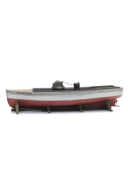 48780183 Lading: Stoombootje African Queen (105mm)