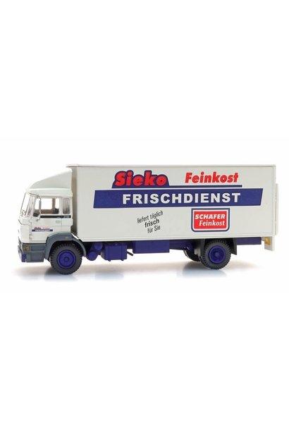 """48705304 DAF Kantelcabine, kofferopbouw """"Sieko Frischdienst"""""""