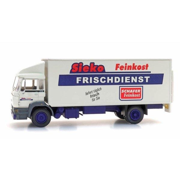 "Artitec 48705304 DAF Kantelcabine, kofferopbouw ""Sieko Frischdienst"""