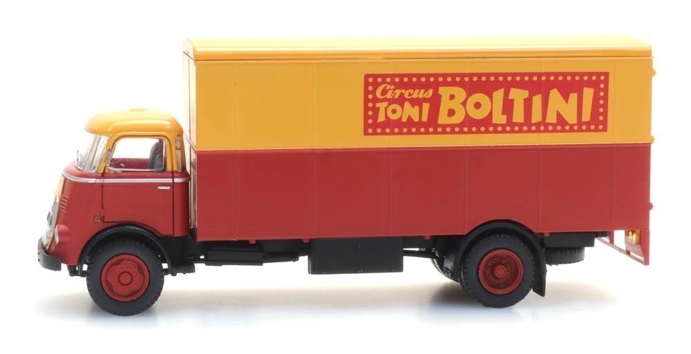 "48703214 DAF cabine '64, kofferopbouw ""Cirkus Boltini""-1"