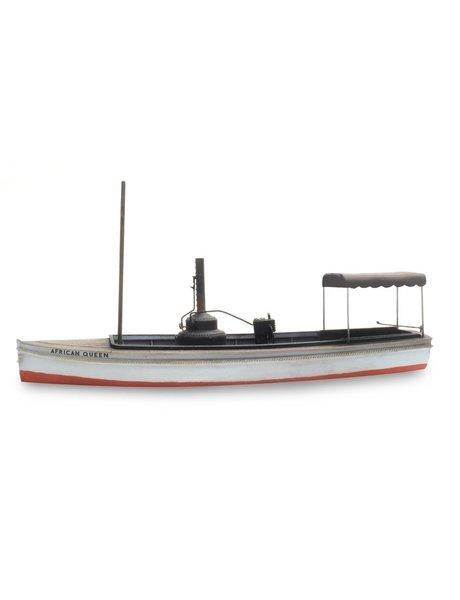 """ARTITEC 387461 Stoombootje """"African Queen"""" Waterlijn (109mm)"""
