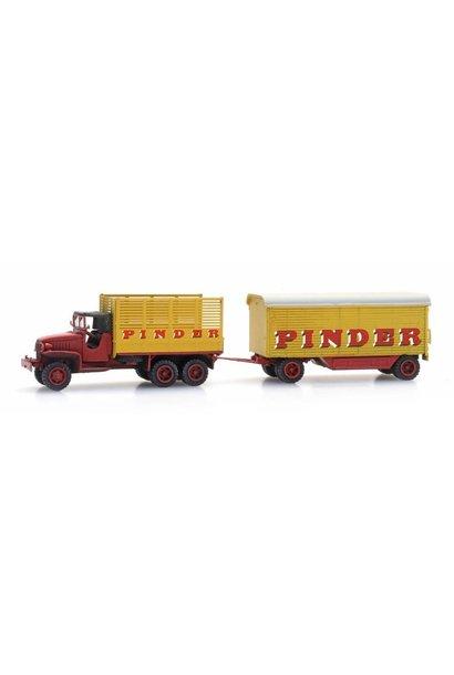 316086 Pinder Circuswagen + GMC 353