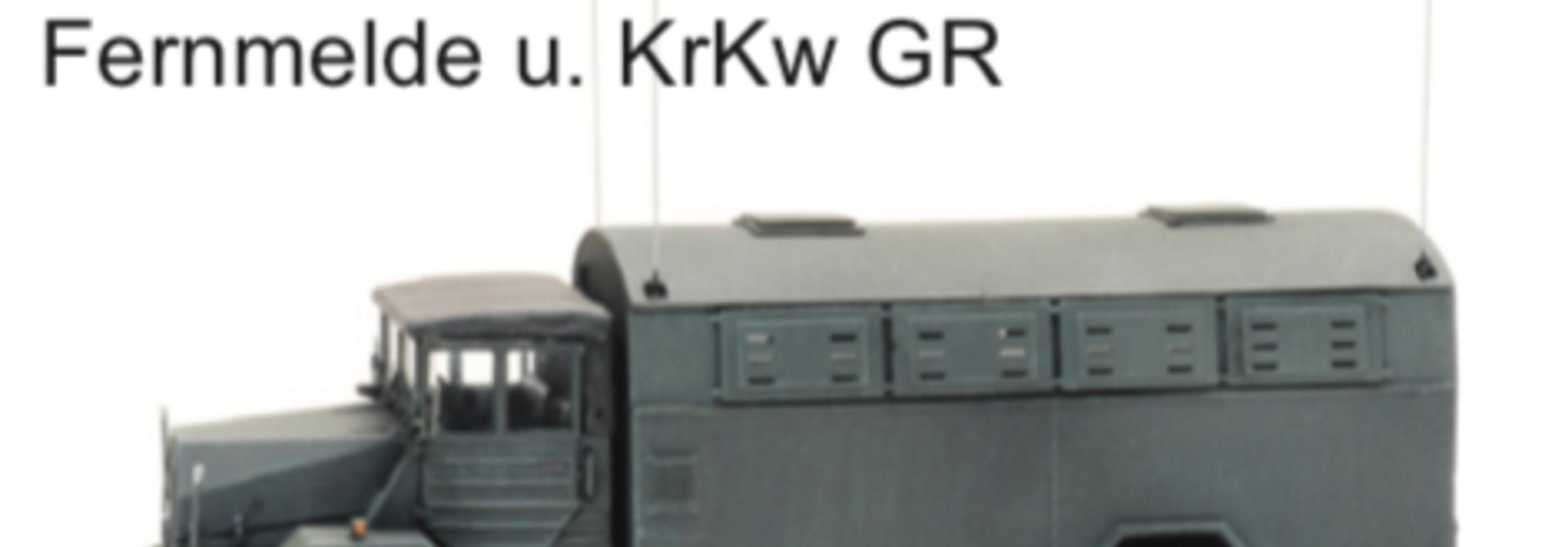 1870172 BRD MAN 630 L2 A Fernmelde u. KrKw GR