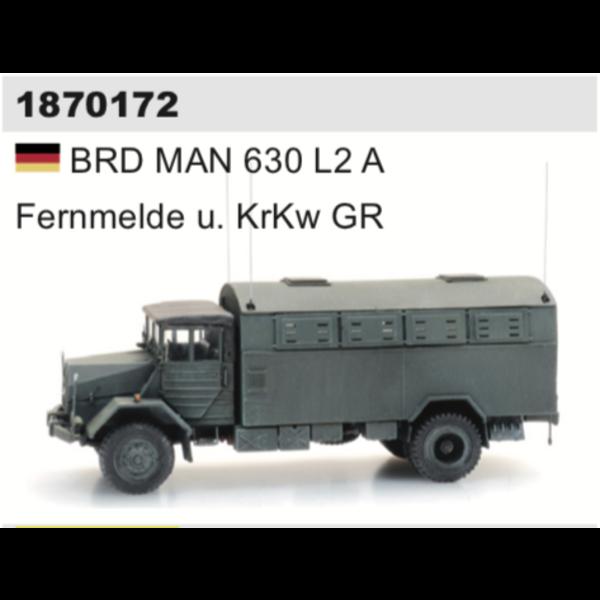Artitec 1870172 BRD MAN 630 L2 A Fernmelde u. KrKw GR