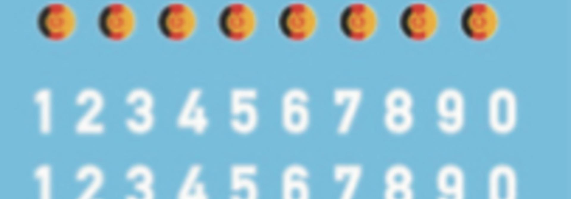 1870169 DDR Turmnummer NVA