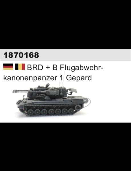 ARTITEC 1870168 BRD + B Flugabwehrkanonenpanzer 1 Gepard