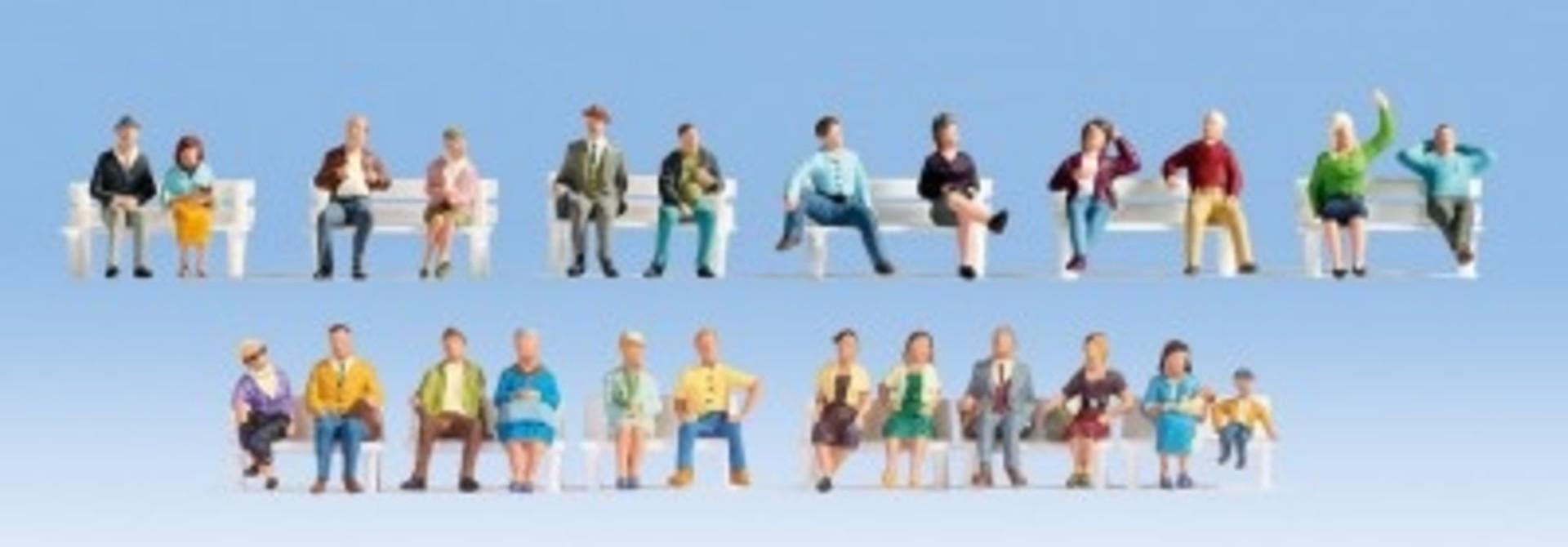"""Figuren-XL-Set """"Sitzende"""""""