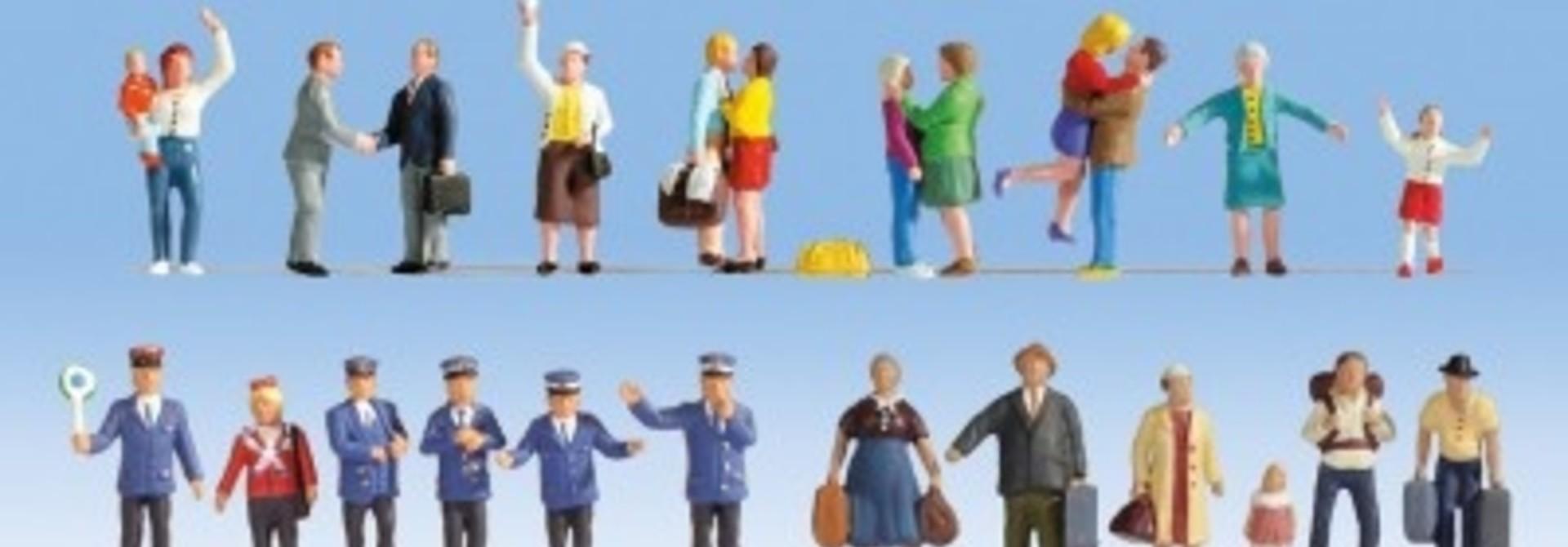 16121      Figuren-XL-Set Auf dem Bahnhof