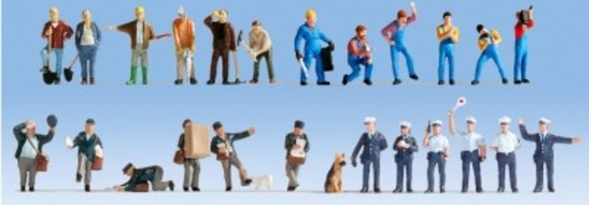 """Figuren-XL-Set """"Bei der Arbeit"""""""