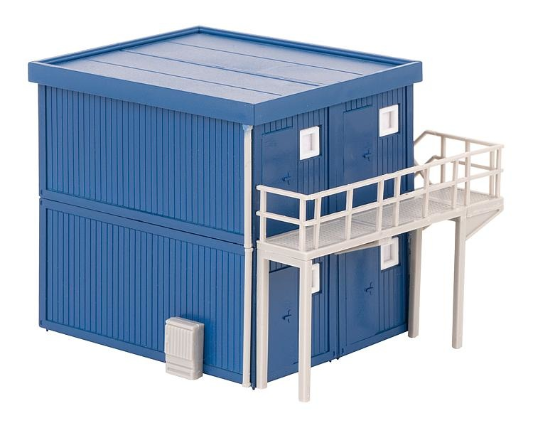 130134 4 BOUWCONTAINERS, BLAUW (2/19) *-1
