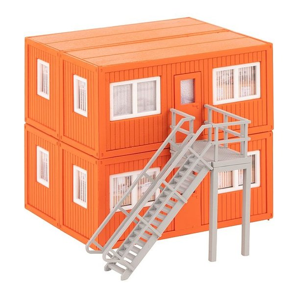 Faller 130135 4 BOUWCONTAINERS, ORANJE (2/19) *