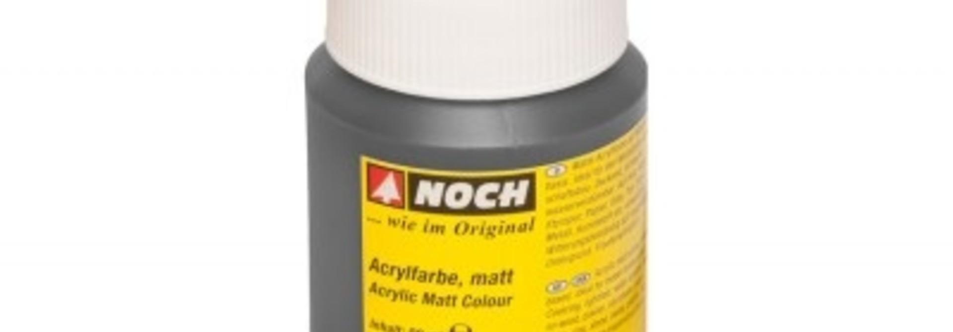 61197    Acrylfarbe, matt, schwarz