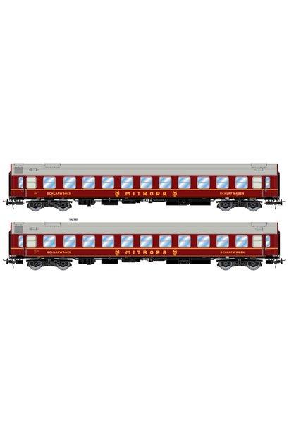 HR4258 DR Schlafwagen-Set Mitropa