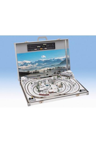 """88308 """"Interlaken"""" Briefcase Layout"""