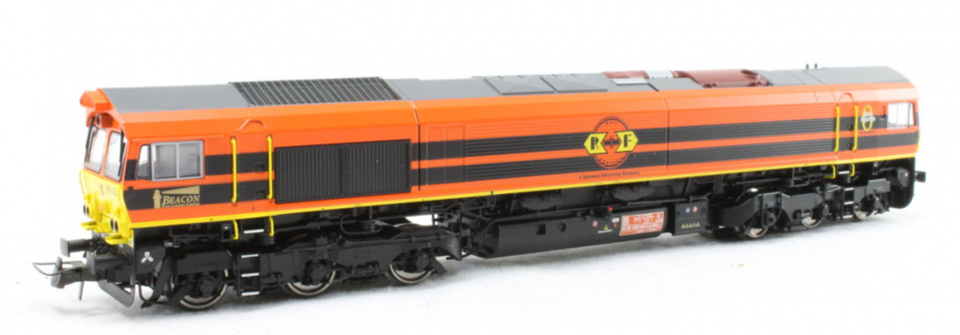 31287 Rotterdam Rail Feeding RRF Class 66 AC/DC Sound&Rook