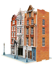 Märklin 72784 Gebäudebausatz Geschäftshäuse