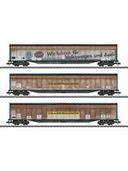 Märklin 48063 Set schuifwandwagens van Transwaggon