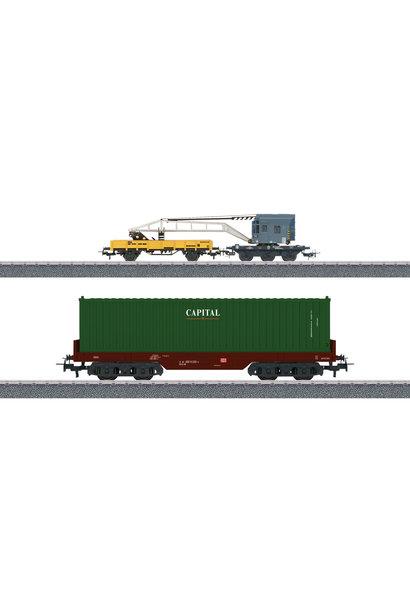 44452 Wagenset Containerverladung