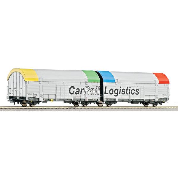 Roco 66965 2 delige autotransportwagen
