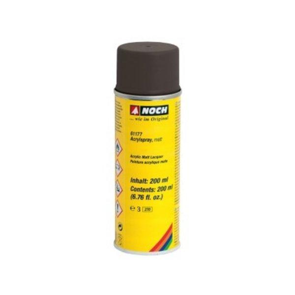 NOCH 61177   Acrylspray, matt, schwarz