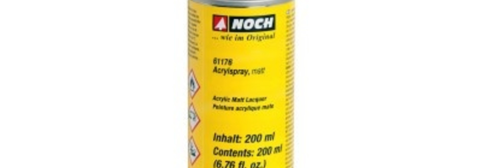 61176   Acrylspray, matt, grau