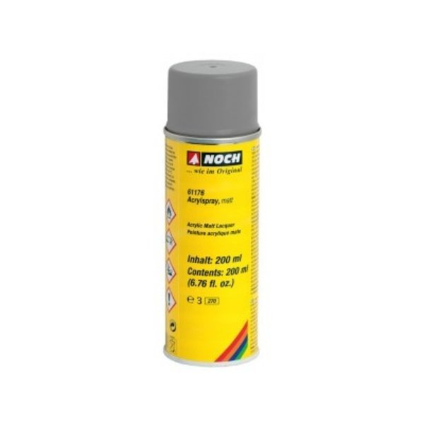NOCH  61176   Acrylspray, matt, grau