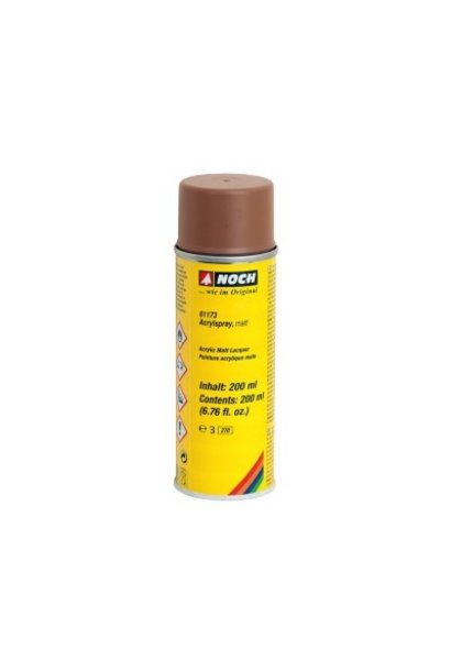 61173   Acrylspray, matt, braun