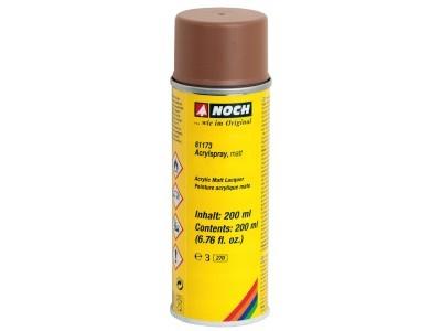 61173  Acrylspray, matt, braun-1