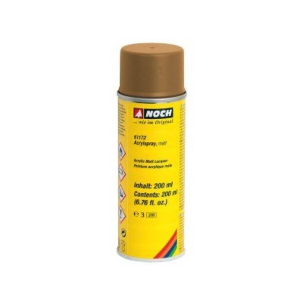 NOCH  61172 Acrylspray, matt, ocker