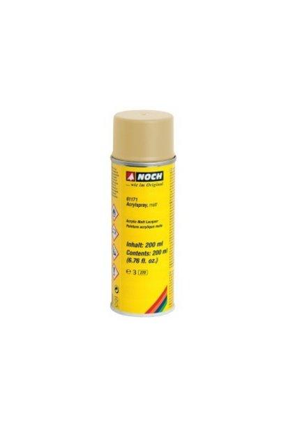 61171  Acrylspray, matt, elfenbein