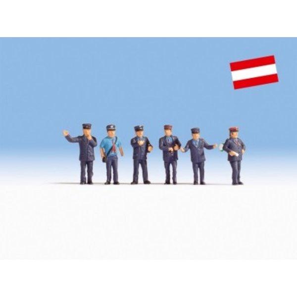 NOCH    15267  Bahnbeamte Österreich