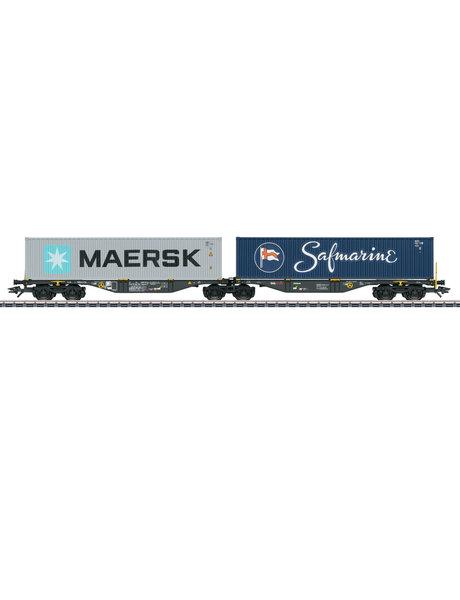 Märklin 47806 Doppel-Tragwagen Sggrss80 Rai