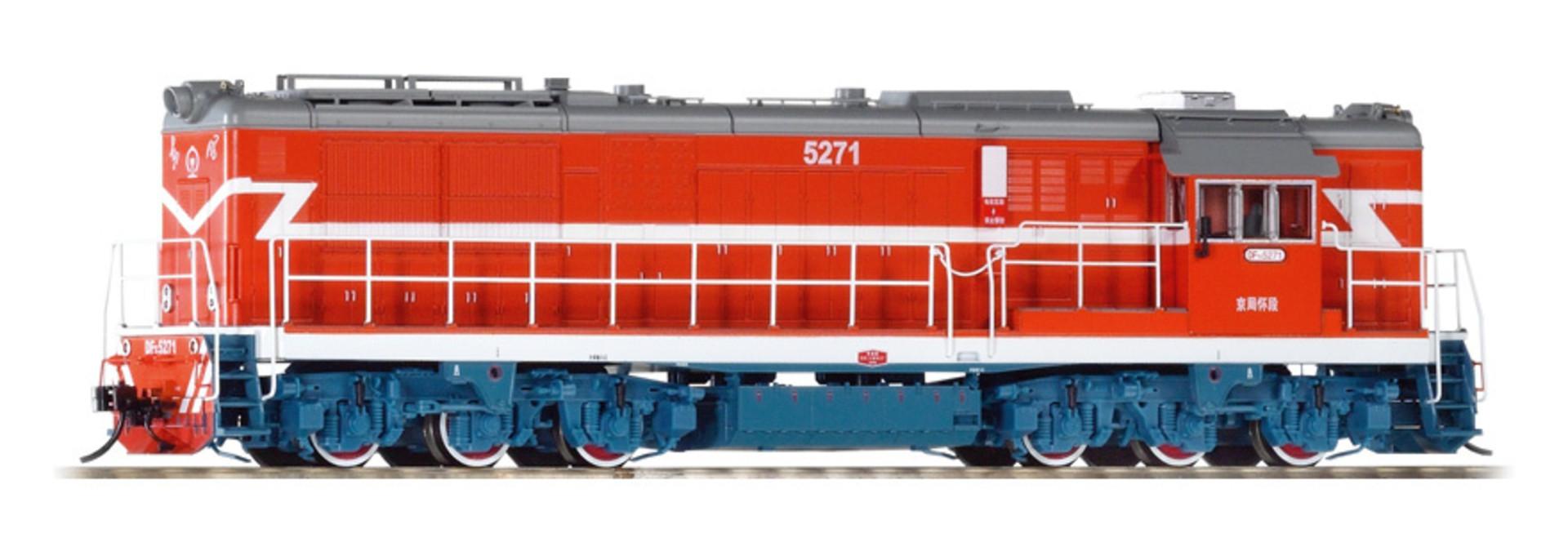 52701 zware diesellocomotief DF7C van de Chinese Spoorwegen AC