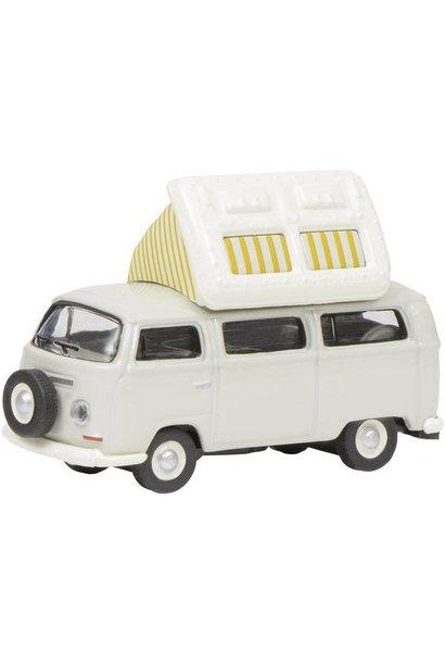 VW T2a Camper, grijs-wit